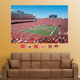 Nebraska Cornhuskers Stadium Mural Wall Decal