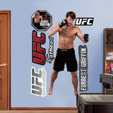 Forrest Griffin  Muursticker