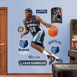 Zach Randolph Wall Decal