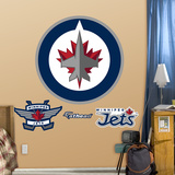 Winnepeg Jets Logo Wall Decal