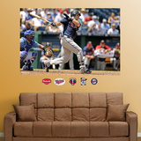 Joe Mauer Mural   Wall Decal