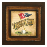 Golf Country Club Giclee Print by Gregory Gorham