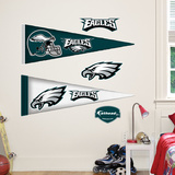 Philadelphia Eagles NFL Pennant Wall Decal