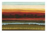 Skyline Symmetry II - Stripes, Layers Reproduction procédé giclée par Jeni Lee