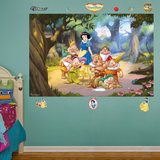 Snow White and the Seven Dwarfs Mural Wall Decal