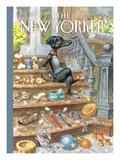 The New Yorker Cover - April 30, 2012 Regular Giclee Print by Peter de Sève