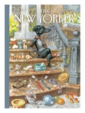 The New Yorker Cover - April 30, 2012 Premium Giclee Print by Peter de Sève