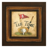Golf Tee Time Premium Giclee Print by Gregory Gorham