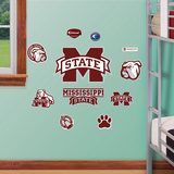 Mississippi State Jr. Logosheet Wall Decal
