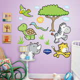 Jungle Animals 1 Wall Decal