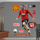 Wayne Rooney 2012 Wall Decal