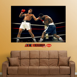 Ali-Frazier Punch Mural Wall Decal