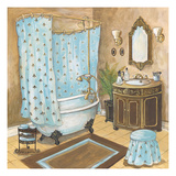 Bain de Cru II - Blue Premium Giclee Print by Gregory Gorham