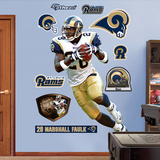 Marshall Faulk Wall Decal