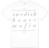 Swedish House Mafia - Underline Name (Slim Fit) T-Shirt