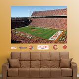 Clemson  – Memorial Stadium Mural   Wall Decal