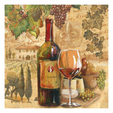 Tuscan Harvest - Wine Giclee Print by Gregory Gorham