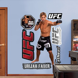 Urijah Faber  Muursticker