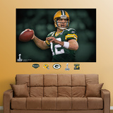 Aaron Rodgers Super Bowl Mural Wall Decal