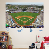 Los Angeles Dodgers Stadium Mural   Autocollant mural