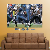 Marshawn Lynch Wildcard Mural Wall Decal