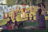 Sunday Afternoon on the Island of La Grande Jatte Wall Decal by Georges Seurat
