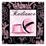 Fashion Pink Radiance - Powder Posters by Gregory Gorham