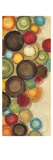 Wednesday Whimsy II - mini - Abstract Colorful Circles Premium Giclee Print by Jeni Lee