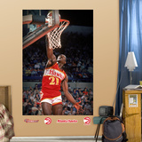 Dominque Wilkins Mural Wall Decal