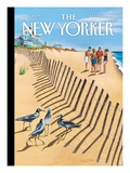 Birds of a Feather - The New Yorker Cover, July 11, 2011 Premium Giclee Print by Mark Ulriksen