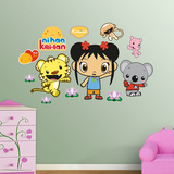 Ni Ho Kai Lan Wall Decal