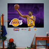 Magic Johnson Mural Wall Decal