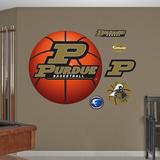 Purdue Basketball 2010 Logo Wall Decal