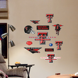 Texas Tech Jr. Logosheet Wall Decal