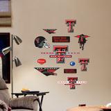 Texas Tech Jr. Logosheet Wall Decal