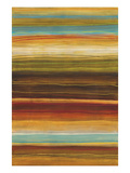 Organic Layers I - Stripes, Layers Reproduction procédé giclée par Jeni Lee