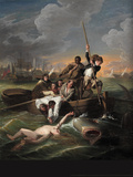 Watson and the Shark Wall Decal by John Singleton Copley