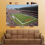 Bears Soldier Field Mural Wall Decal