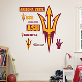 Arizona Pitch Fork Logo Wall Decal Wall Decal