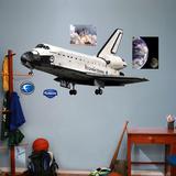 NASA Endeavor Kalkomania ścienna