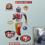 Frank Gore Wall Decal