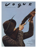 Vogue - October 15, 1936 - Hunting Season Regular Photographic Print by Anton Bruehl & Fernand Bourges