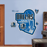 Dallas Mavericks 2011 NBA Champs Logo Wall Decal