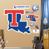 Louisiana Tech  Logo Wall Decal