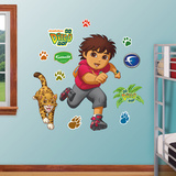 Go Diego Go Wall Decal