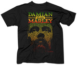Damian Marley- Lyric Face And Name T-Shirt