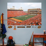 Oklahoma State Stadium Mural Wall Decal