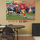 Alex Smith Playoff Rush Mural Wall Decal