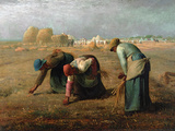 The Gleaners Wall Decal by Jean-François Millet