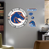 Boise State Perfect Season Logo Wall Decal